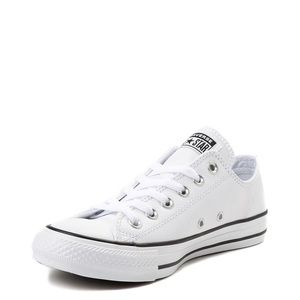 All star white and black converses! New